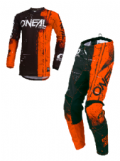 O`Neal ELEMENT Youth Jersey & Pant Combo SHRED orange